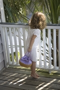 Doll in a Bassinet - Little Girls Handbag