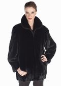 Mink Jacket - Zippered Ranch Mink Jacket