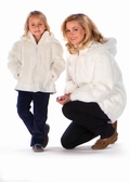 Childrens White Rabbit Jacket
