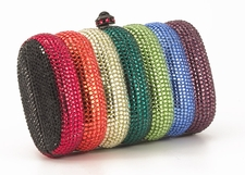 Swarovski Evening Bag - Multicolor Evening Purse