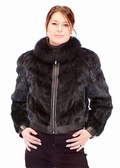 Fur Mink Jacket - Zippered 20