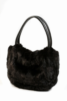 Mink Handbag Ranch Mink - Mid Sized Hobo