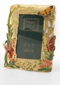 Jeweled Picture Frame - Butterfly