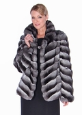 Chinchilla Jacket - Classic Wing Chevron Design