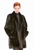 Mink Jacket - Ranch Mink Classic Shawl Collar
