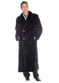 Mens Mink Coat - Sculptured Mink