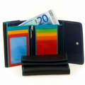 MyWalit Double Flap Ladies Wallet-Black Multi