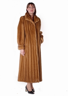 Mink Coat - Female Golden Classic Mink