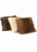 Fur Pillows-Knitted Fur Pillows-Three Colors