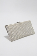 Evening Bag - Swarovski Crystal Soft Mesh Clutch