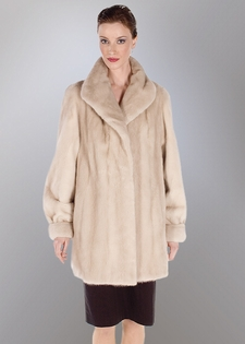 Mink Jacket-Tourmaline Soft Cream