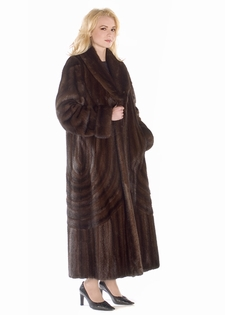 Mink Coat - Mahogany Double Directional