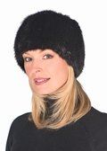 Ranch Mink Knitted Fur Stretch Hat