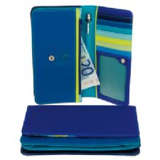 MyWalit Ladies Matinee Purse Wallet-Seascape Blues
