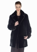 Mink Jacket - Ranch Mink Notch Collar