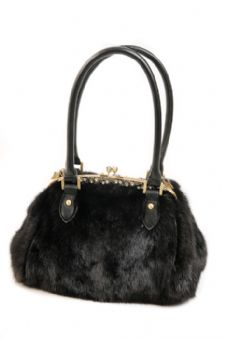 Ranch Mink Handbag - Elegance in Mink