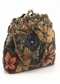 Tapestry Evening Bag - Vintage Style