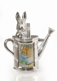Peter Rabbit Silver Plated Picture Frame