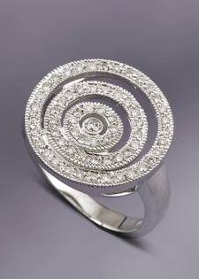Diamond Fashion Ring - Multi Circle Diamonds