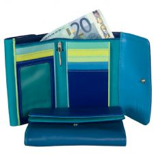 MyWalit Double Flap Ladies Wallet-Seascape