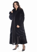 Ranch Mink Coat - Plus Size Designer Mink