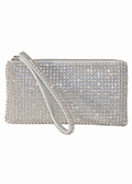 Evening Bag - Swarovski Crystal Soft Mesh Wristlet