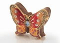 Pill Box - Butterfly Shaped Jeweled Box